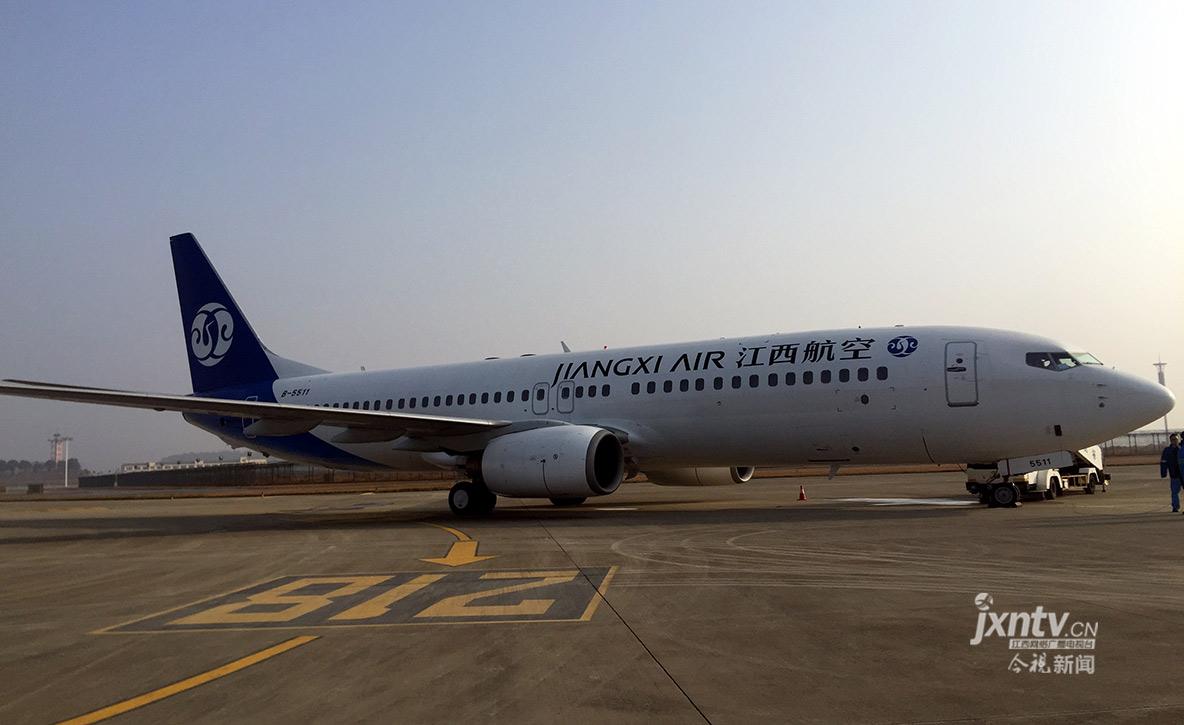 江西航空飞行代码为RY 有望2月首航