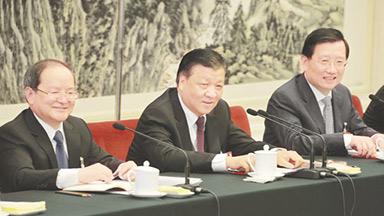 刘云山参加江西代表团审议