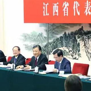 """心系江西""""老表"""" 刘云山看望江西代表团说了一些贴心话···"""
