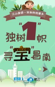 """独树""""1""""帜 寻""""宝""""昌南"""
