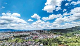"""景德镇市空气质量持续向好""""景德镇蓝""""强势刷屏"""