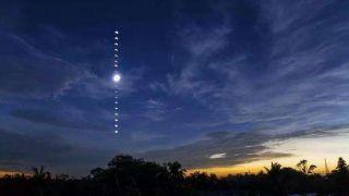 30万人涌入智利观星胜地 观赏日全食奇观