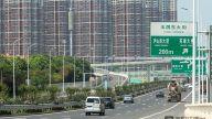 南昌昌航立交主体基本完工,预计八月底竣工通车。