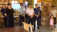 上饶市委常委、宣传部长丁晓胜到余干调研基层意识形态工作