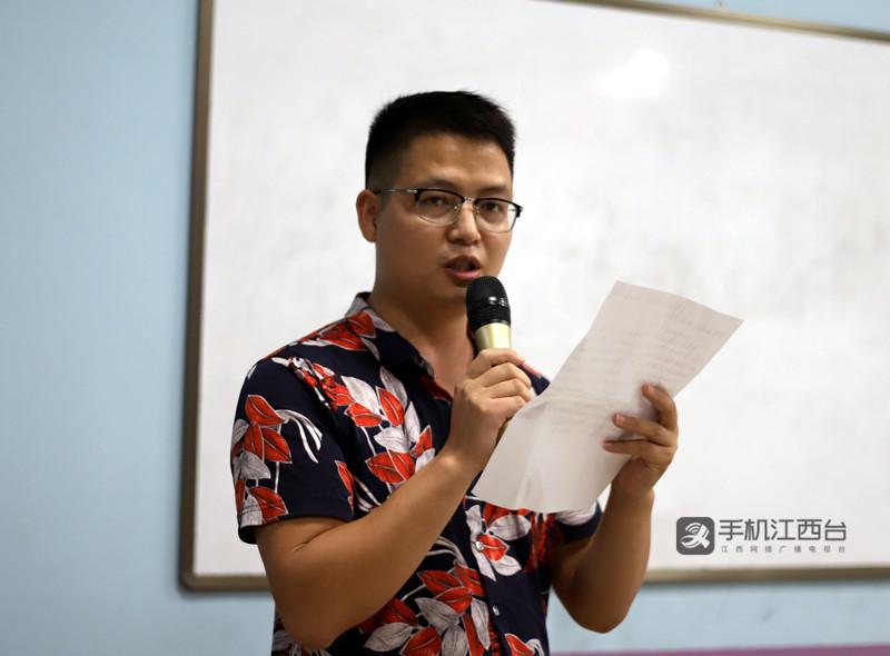 新民学校音乐教师贺金明发言1