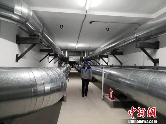 甘肃白银成为国内首个天然气入地下管廊并运营城市