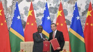 中华人民共和国和所罗门群岛建立外交关系