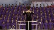 上饶市庆祝中华人民共和国成立70周年群众歌咏活动举行