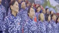 70名脱贫户和70名驻村第一书记同声共唱幸福歌喜迎国庆70周年