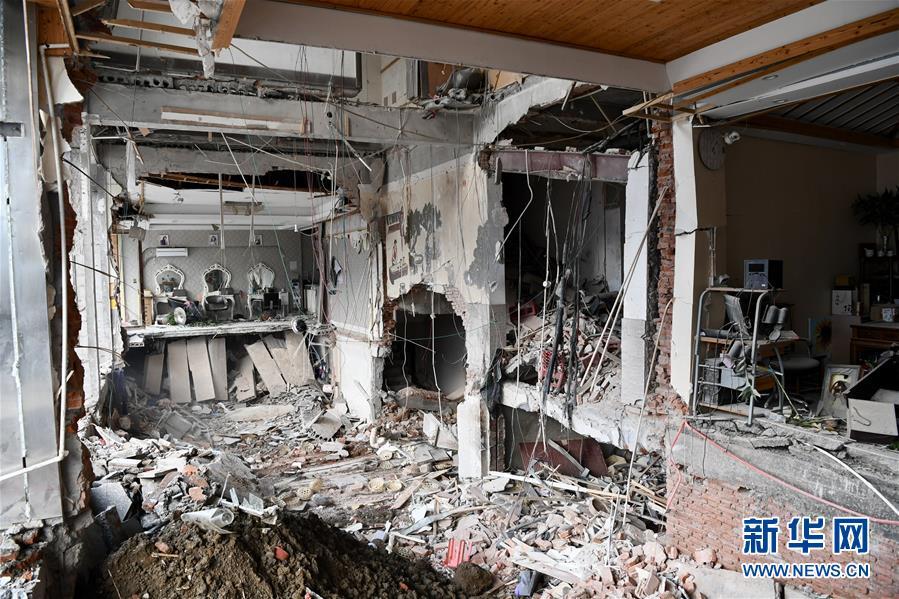 (新华网)(2)无锡锡山小吃店燃气爆炸事故死亡人数上升至9人