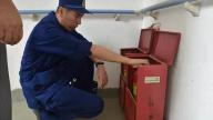 安福消防大队深入辖区敬老院开展消防产品检查