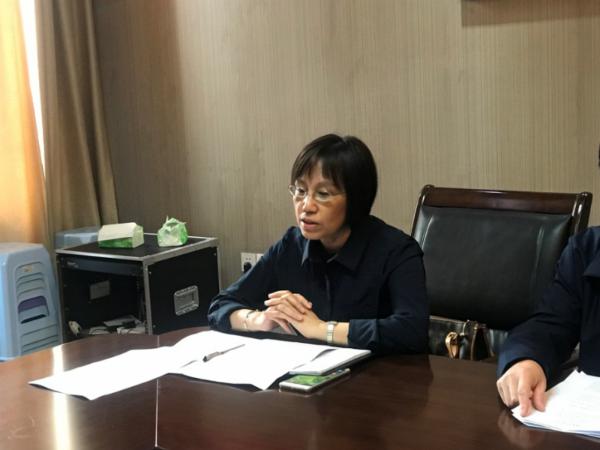 九江一中党委书记就调研成果进行交流