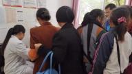 吉水枫江镇卫生院免费为已婚育龄妇女做两癌筛查