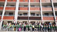会昌县筠门岭中心小学教师与贫困生结对帮扶仪式启动