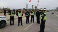 樟树交警圆满完成樟树中医药职业学院项目开工仪式道路交通安保任务