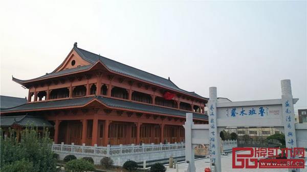 鲁班木艺博物馆外景
