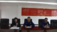 安福消防大队联合商务局集中约谈24家加油站负责人