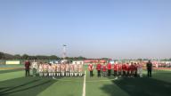 万安县韶口中心小学第二届校园足球联赛开幕