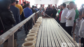 2019华人娱乐app下载国际麻纺博览会双林夏布文化节开幕