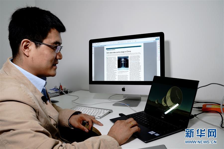 (图文互动)(2)我国科学家成功研制平方公里阵列射电望远镜(SKA)区域中心原型机