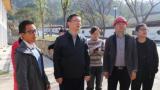 德兴市委常委、常务副市长陈武军指导推进重点项目建设