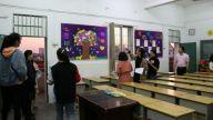 青山湖区上海路小学开展校园班级文化评比活动