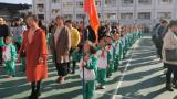 婺源县紫阳一小举行2019级学生第一批少先队入队仪式
