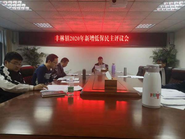 丰林镇2020年新增低保民主评议会
