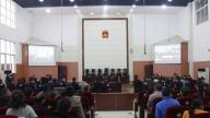乐平法院依法公开审理王某松等11人涉黑案