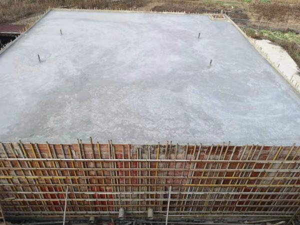 在建的最大蓄水量达800吨的蓄水池
