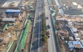 南昌昌東大道拓寬項目主車道雙向通車