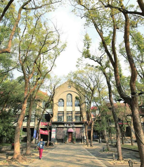 图为九江修道院旧址。