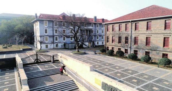 上图为同文书院旧址。