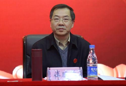 党委书记(督导专员)、副理事长傅鹏鹏作主题教育总结讲话