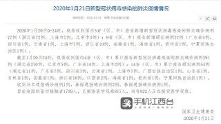 最新通报 华人娱乐app下载报告2例疑似新型冠状病毒肺炎病例