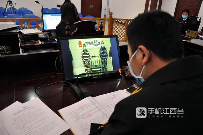 金溪县人民法院庭审现场2