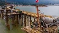 靖安G353塘埠大桥圆满完成桩基础施工