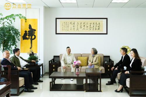 浙江省电影家协会驻会副主席兼秘书长熊颖俐亲临众志集团调研指导