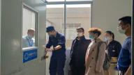 安福消防大队深入工业园企业开展复工复产消防安全检查指导