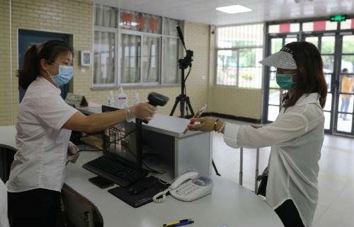学生入宿舍演练环节