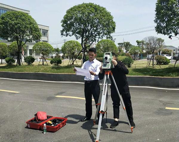 为萍乡市拓源实业进行土地测量
