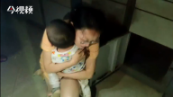 1岁半男孩被困快递柜 消防2分钟撬柜解救