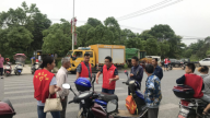 吉州区长塘镇新时代文明实践所开展志愿服务
