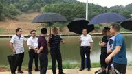 安源区委常委、政法委书记叶建交督导地质灾害防治工作