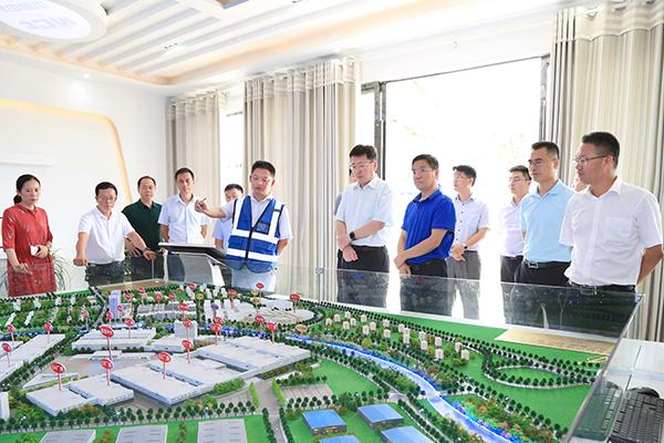 1 查看周江电子信息产业园规划沙盘