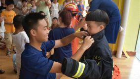 新余分宜消防深入幼儿园开展消防应急演练