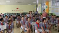 赣州市南康区第一小学迎接万安县梦想课程考察组考察