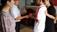 """万安县实验小学党支部""""七一""""期间开展走访慰问困难教工和特困学生活动"""