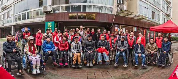 参加萍乡市希望之家活动