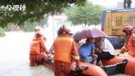 激流勇进 都昌消防淌水转移500名被困学生